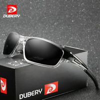 DUBERY Men's Sports Polarized Sunglasses Outdoor Riding Fishing Goggles Glasses