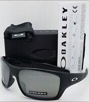 NEW Oakley Turbine sunglasses Black Prizm Black Iridium 9263-42 AUTHENTIC