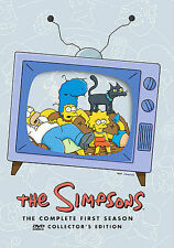 The Simpsons - The Complete First Season (DVD, 2009, 3-Disc Set, Collectors Edition Sensormatic)