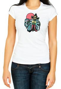 Big Trouble in Little China Fu Manchu Women's 3/4 Short Sleeve T-Shirt K054