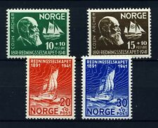 NORWAY 1941 Norwegian Lifeboat Society (B20-23) . Mint Never Hinged