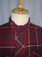Nike Air Jordan Button Up Red Yellow Flannel Long Sleeve Shirt Mens Large