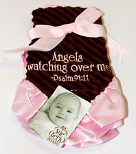 Angels Watching Over Me-Pink on Brown-Lovey