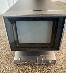 100%COMPLETE! Vintage SONY trinitron KV-4000 mini ALL ACCESSORIES NIB!