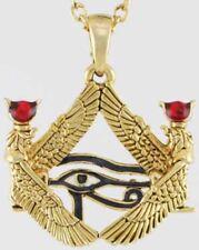 Isis Framed Eye of Horus Necklace