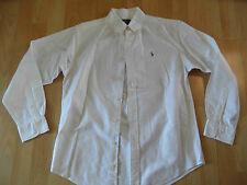 RAPLH LAUREN schönes Hemd weiß Gr. 12 NEUw. BSu516