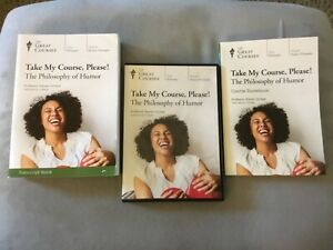 Take My Course, Please! The Philosophy of Humor, Guide & Transcript 4 DVD SET