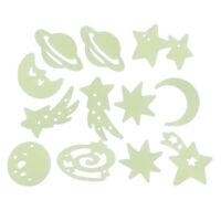 Sticker adesivo universo e stelle luminose per casa,camera da letto,parete A4Z5