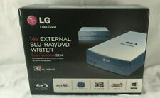 NIB LG 14x EXTERNAL BLU-RAY/DVD WRITER  BDXL SUPER MULTI  BE14NU40 3D PLAYBACK!