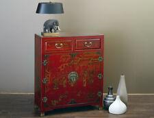 Chinesisches Sideboard dunkel rot China Anrichte Wohzimmer Schlafzimmer Küche
