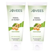 Jovees Facial Scrub - Papaya & Honey 100 g (pack of 2)