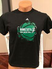 SWEET Minnesota Lynx Women's Size Large Black Adidas T-Shirt, NEW&NICE!