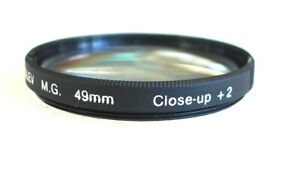 49mm ROLEV M.G. Close Up +2 Lens Filter - PERFECT