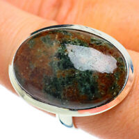 Large Russian Eudialyte 925 Sterling Silver Ring Size 9.5 Ana Co Jewelry R42918F