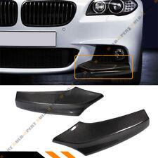 For 2011-16 BMW F10 5 Series 535i 528i Carbon Fiber Splitters For M Sport Bumper