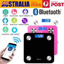 Digital Bluetooth Scale Smart Bathroom Scales Body Fat Weight For IOS Android