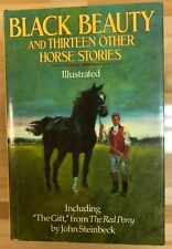BLACK BEAUTY and Thirteen Other Horse Stories (1980) Avenel illustrated HC