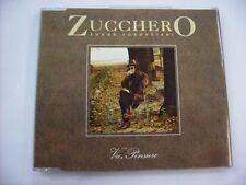 ZUCCHERO - VA PENSIERO - CD SINGLE EXCELLENT CONDITION 1997 - 3 TRACKS JEWELCASE