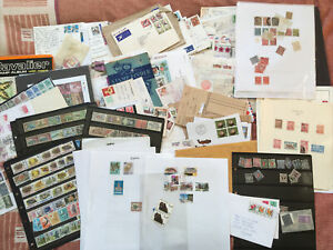 World Stamps Glory Box, +2kg, Mint, Used, FDCs, Approval Booklets 1000s