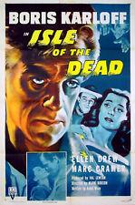 ISLE OF THE DEAD Boris Karloff Ellen Drew Val Lewton US 1-SHEET POSTER