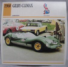 Gilby-Climax Classic Car Card
