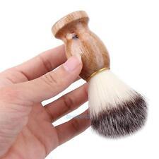 De hombre Oso de Afeitar Cepillo Mejor Afeitado Pelo De Tejón Mango De  Madera De Afeitar Barbero herramienta suave 1cbd78f0255b