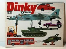 DINKY COLLECTORS CATALOGUE #13 1977 EXCELLENT CONDITION MECCANO  OLD STOCK