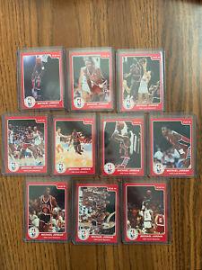 1984-1985 Star Michael Jordan Olympic 10 Card Set - 85