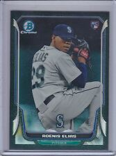 ROENIS ELIAS 2014 Bowman Chrome Black Static Refractor #02/35 #28  (B8536)