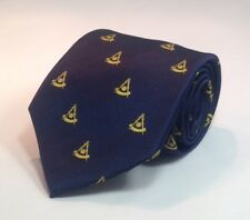 Past Master NO Square Woven Necktie - Navy Blue (PMNS-NT-N)