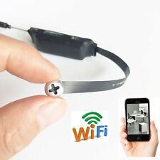 Wifi Spy secret screw Mini Wireless P2P HD 720P Webcam hidden Camera DVR record