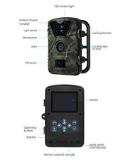 """US 2.4"""" LCD  CT008 Game Camera Trail Scouting Wildlife LED Infrared Night Vision"""