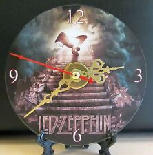 Brand New Led Zeppelin Stairway To Heaven Cd Clock Classic Rock Band English