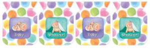 Baby Me Flag Banner - Baby Shower Party Supplies