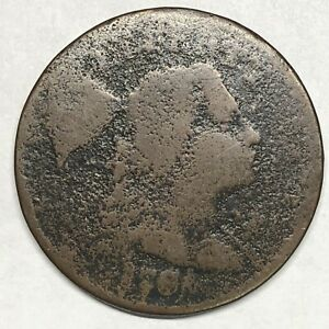 """1794 S-51 Liberty Cap Large Cent R-4 Blundered Edge """"ONE HUNDRED A DOLLAR"""""""