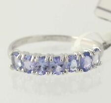 NEW Tanzanite Ring - Sterling Silver 925 Women's Size 8 Oval Cut 0.97ctw