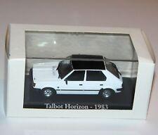 RBA - TALBOT HORIZON (1983) White - Model Scale 1:43