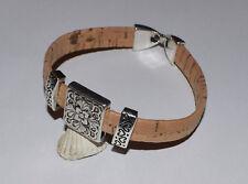 Sommer Kork Armband Armreif Cork #4 Korkschmuck, jedes Stück ein Unikat