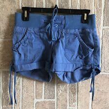 Women's Arizona Jeans Blue Shorts Sz 1 Stretch