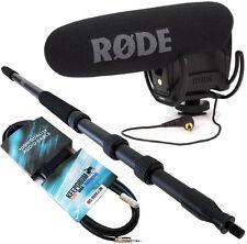 Rode VideoMic Pro Rycote + TAMBURI mpb01 boom pole Pro 3m + prolunga cavo 3m