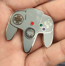 Nintendo 64 N64 logo Badge Pin Metal Brooches Cosplay Otaku Gift
