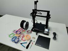 3D-Drucker Ender 3 mit Zubehör und PLA Fillamenten