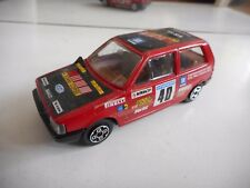 Bburago burago Fiat Uno in Red on 1:43