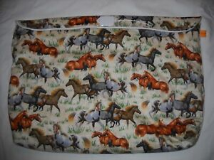Breyer oversize pony pocket pouch traditional classic custom model horse fabric