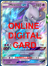 1X Mewtwo GX 31/68 Hidden Fates Pokemon TCG Online Digital Card