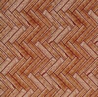 1/12 Streets Ahead Dolls House Dark Wooden Parquet Flooring paper A3 Sheet