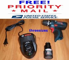 "BRAND NEW 12 VOLT BOSCH PS31 KIT- LIT-ION 3/8"" DRILL-DRIVER, BATTERY & CHARGER"