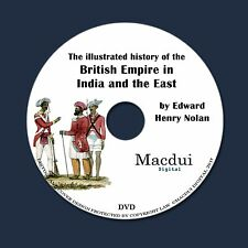 Illustrated history of British Empire in India & the East 2 PDF E-Books 1 DVD