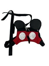 Disney Mickey Mouse Toddler Harness & Lead Adjustable Straps Black Red
