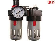 BGS 8603 Druckminderer Druckregler Druckluftfilter Druckluftöler Druckluft Öler